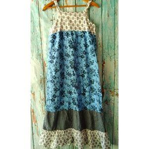 🎈Crazy 8  Mixed Prints Maxi Dress  L